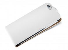 Etui iPhone 7 Business Class-Blanc