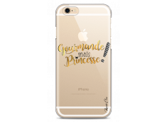 Coque iPhone 6/6S Gourmande mais Princesse