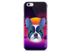 Coque iPhone 6Plus/6SPlus Gradient french buldog design