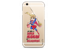 Coque iPhone 6/6S Super Maman qui déchire- watercolor design