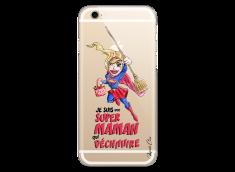 Coque iPhone 6Plus/6SPlus Super Maman qui déchire- watercolor design