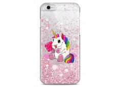 Coque iPhone 6/6S Pink glitter Sweet Baby Licorne