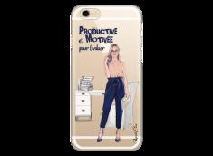 Coque iPhone 6/6S Productive et Motivée