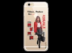Coque iPhone 6Plus/6SPlus Râleuse, Boudeuse mais Adorable