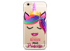 Coque iPhone 6/6S Rêveuse mais Princesse