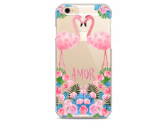 Coque iPhone 6Plus/6SPlus Summer flamingo amor