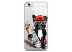 Coque iPhone 6Plus/6SPlus Summer watercolor french buldog