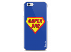 Coque iPhone 6Plus/6SPlus Super Dad - blue design