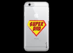 Coque iPhone 6Plus/6SPlus Super Dad - design