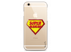Coque iPhone 6/6S Super Maman - design