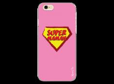 iPhone 6Plus/6SPlus Super Maman - pink design