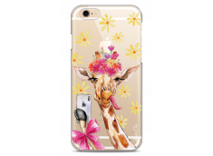 Coque iPhone 6Plus/6SPlus Watercolor Floral Giraffe