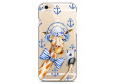 Coque iPhone 6Plus/6SPlus Watercolor Marine Giraffe