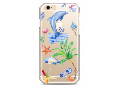 Coque iPhone 6/6S Summer watercolor pattern sea