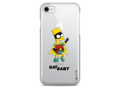 Coque iPhone 7Plus/8Plus Super Bat Bart Simpson cartoon design