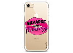 Coque iPhone 7Plus/8Plus Bavarde mais Princesse