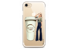 Coque iPhone 7/8 But first coffee