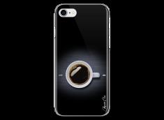 Coque iPhone 7/8 Coffee metal design