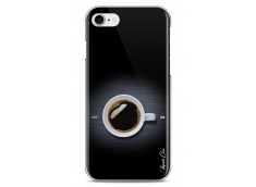 Coque iPhone 7Plus/8Plus Coffee metal design