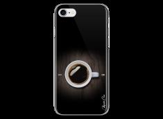 Coque iPhone 7Plus/8Plus Coffee wood design