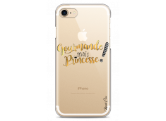 Coque iPhone 7/8 Gourmande mais Princesse