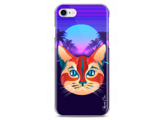 Coque iPhone 7/8 Gradient cat design