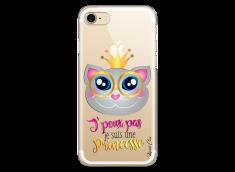 Coque iPhone 7Plus/8Plus Je suis une Princesse