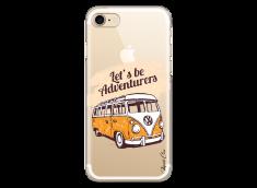 Coque iPhone 7/8 Let's be adventurers