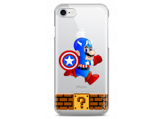 Coque iPhone 7Plus/8Plus Mario Captain
