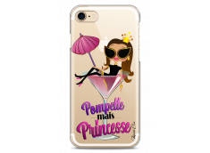 Coque iPhone 7Plus/8Plus Pompette mais Princesse