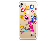 Coque iPhone 7/8 Princesse très Tchatcheuse