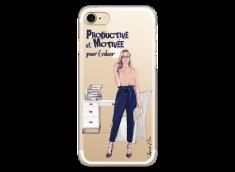 Coque iPhone 7Plus/8Plus Productive et Motivée
