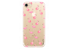 Coque iPhone 7/8 Summer flamingo pattern