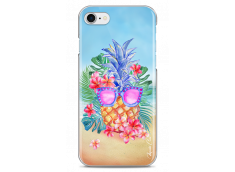 Coque iPhone 7/8 Summer watercolor ananas