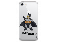 Coque iPhone 7Plus/8Plus Super Bat Dad Simpson cartoon design