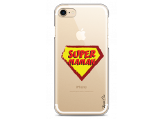 Coque iphone 7Plus/8Plus Super Maman - design