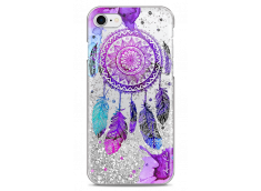 Coque iPhone 7/8 Silver glitter Dreamcatcher artistic color