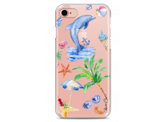 Coque iPhone 7/8 Summer watercolor pattern sea