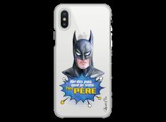 Coque iPhone XS MAX Batman watercolor masque