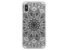 Coque iPhone XR Black Mandala