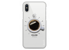 Coque iPhone X Coffee Time - design