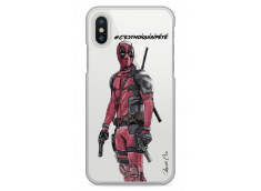 Coque iPhone X Deadpool 2 - Message