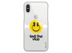 Coque iPhone X Feel the vibe