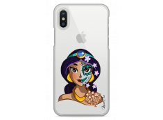 Coque iPhone X Jasmine walt Disney face design