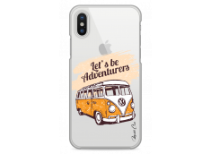 Coque iPhone X Let's be adventurers