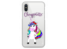 Coque iPhone X Licorne Choupinette