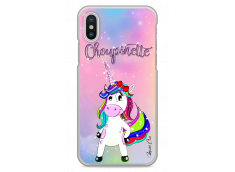 Coque iPhone X Licorne Choupinette design