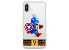 Coque iPhone X Mario Captain