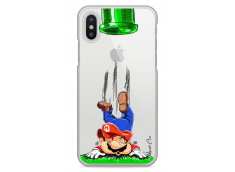 Coque iPhone X Mario game over