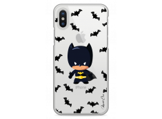 Coque iPhone X Mini Batman cartoon design